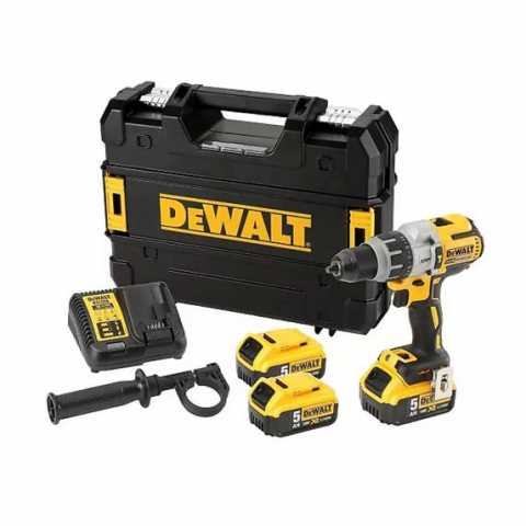 Купить Дрель-шуруповёрт аккумуляторная бесщёточная ударная DeWALT DCD996P3K. Инструмент DeWALT Украина, официальный фирменный магазин