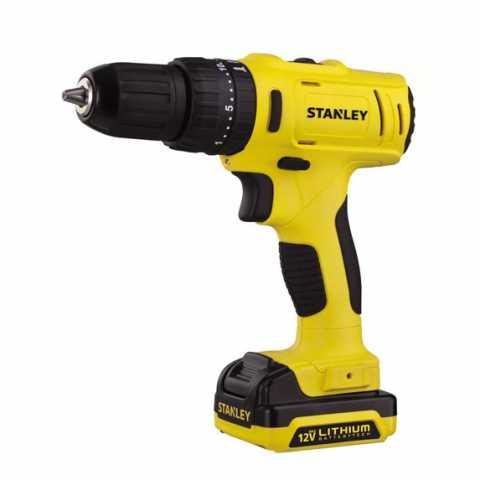 Купить Дрель-шуруповёрт аккумуляторная ударная STANLEY SCH121S2K. Инструмент DeWALT Украина, официальный фирменный магазин