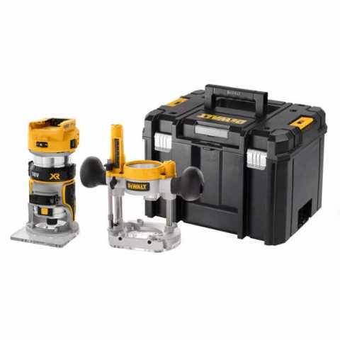 Купить Фрезер аккумуляторный бесщёточный DeWALT DCW604NT. Инструмент DeWALT Украина, официальный фирменный магазин