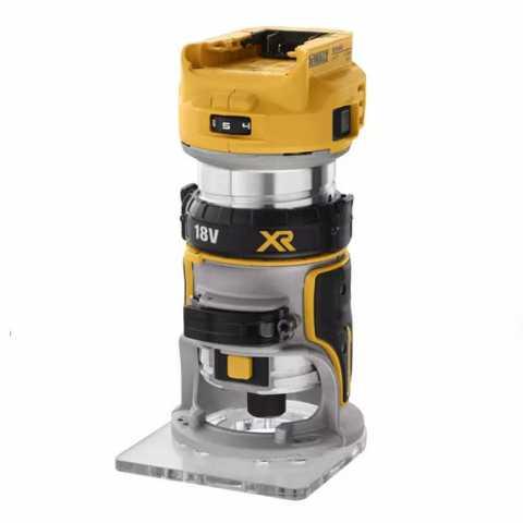 Купить Фрезер аккумуляторный бесщёточный окантовочный DeWALT DCW600N. Инструмент DeWALT Украина, официальный фирменный магазин