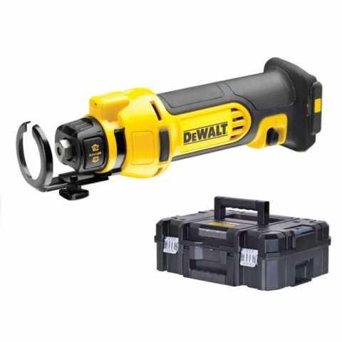 Купить Фрезер аккумуляторный для вырезания гипсокартона DeWALT DCS551NT. Инструмент DeWALT Украина, официальный фирменный магазин
