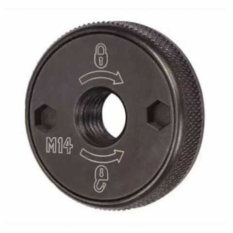 Купить Гайка прижимная быстросъемная М14 для угловых шлифовальных машин DeWALT DT3559. Инструмент DeWALT Украина, официальный фирменный магазин