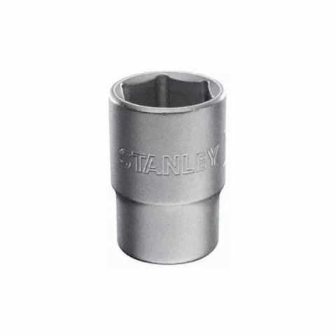Купить Головка торцевая 1/2 х 25 мм, с шестигранным профилем, стандартная, метрическая STANLEY 1-88-747. Инструмент DeWALT Украина, официальный фирменный магазин
