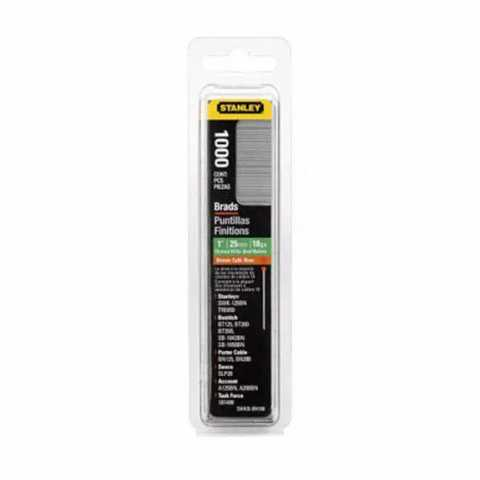 Купить Гвозди тип J длиной 15 мм, для степлера ручного Light Duty, в упаковке 1000 шт STANLEY 1-SWK-BN0625T. Инструмент DeWALT Украина, официальный фирменный магазин