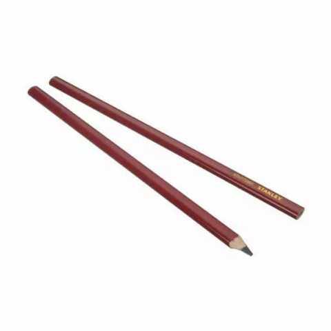 Купить Карандаш для разметки по дереву, длиной 300 мм, твердостью 2В STANLEY STHT0-72997. Инструмент DeWALT Украина, официальный фирменный магазин