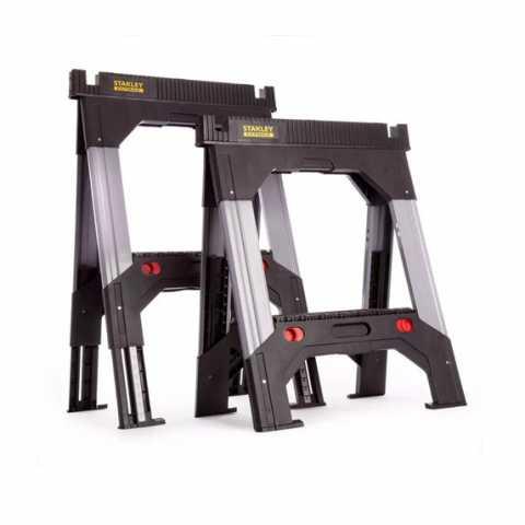 Купить Козлы складные FatMax, 2 шт, 703 x 329 x 849 мм STANLEY 1-92-980. Инструмент DeWALT Украина, официальный фирменный магазин