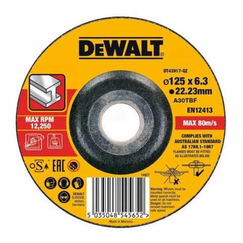 Купить Круг отрезной DeWALT DT43917. Инструмент DeWALT Украина, официальный фирменный магазин