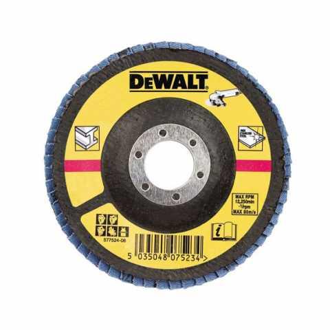 Купить Круг шлифовальный лепестковый DeWALT DT3309. Инструмент DeWALT Украина, официальный фирменный магазин