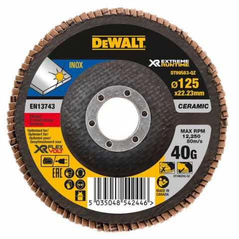 Купить Круг шлифовальный лепестковый DeWALT DT99583. Инструмент DeWALT Украина, официальный фирменный магазин