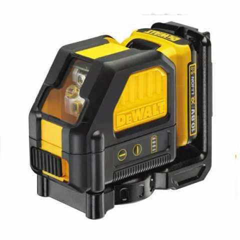 Купить Лазер самовыравнивающийся 2-х плоскостной DeWALT DCE088D1R. Инструмент DeWALT Украина, официальный фирменный магазин