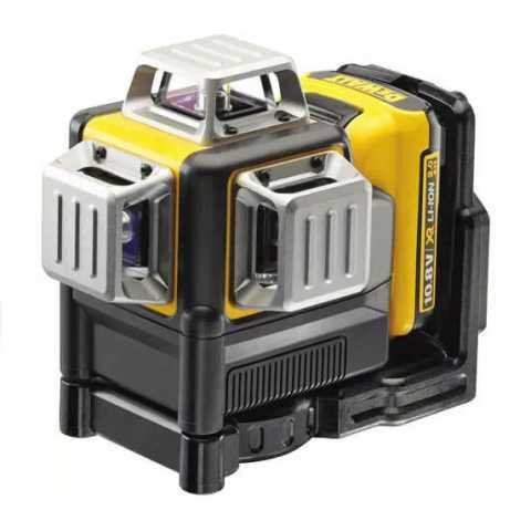 Купить Лазер самовыравнивающийся 3-х плоскостной DeWALT DCE089D1R. Инструмент DeWALT Украина, официальный фирменный магазин