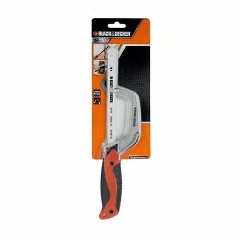 Купить Мини-ножовка по металлу 250 мм типа Junior BLACK+DECKER BDHT0-20178. Инструмент Black Deker Украина, официальный фирменный магазин