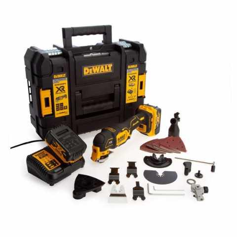 Купить Многофункциональный инструмент аккумуляторный бесщёточный DeWALT DCS356P2. Инструмент DeWALT Украина, официальный фирменный магазин