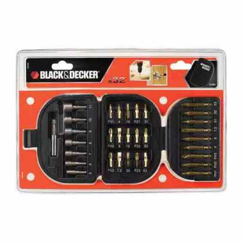 Купить Набор бит BLACK+DECKER A7094. Инструмент Black Deker Украина, официальный фирменный магазин
