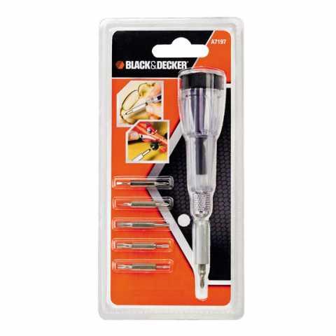Купить Набор бит BLACK+DECKER A7197. Инструмент Black Deker Украина, официальный фирменный магазин