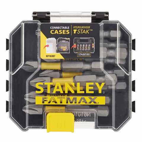 Купить Набор бит STANLEY STA88573. Инструмент DeWALT Украина, официальный фирменный магазин