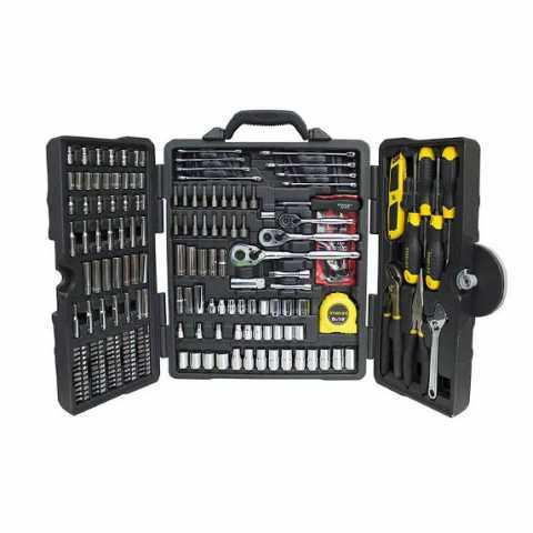 Купить Набор инструментов из двухсот десяти предметов STANLEY STHT5-73795. Инструмент DeWALT Украина, официальный фирменный магазин