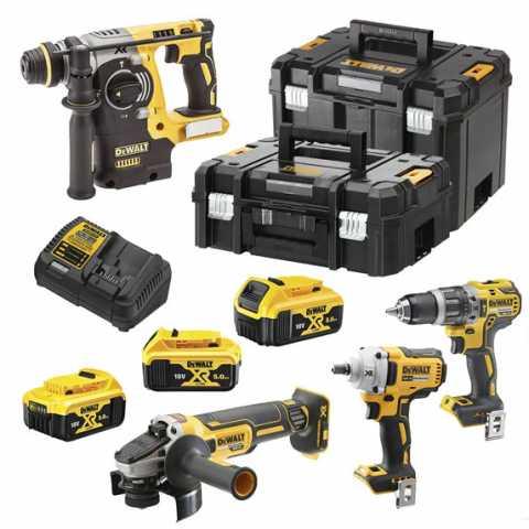 Купить Набор из четырёх инструментов бесщеточных DeWALT DCK428P3T. Инструмент DeWALT Украина, официальный фирменный магазин