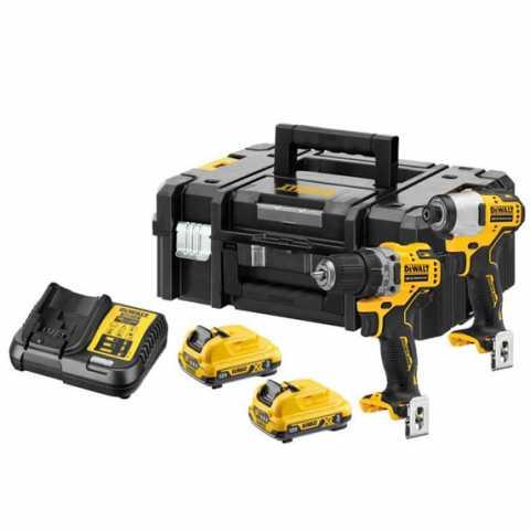 Купить набор из двух инструментов аккумуляторных бесщеточных DeWALT DCK2110L2T. Фирменный магазин DEWALT Украина