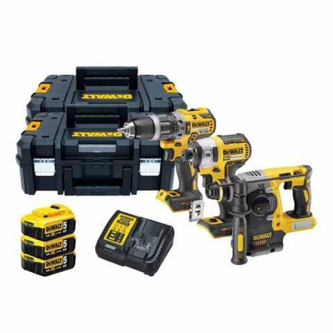 Купить Набор из трех инструментов бесщеточных DeWALT DCK368P3T. Инструмент DeWALT Украина, официальный фирменный магазин