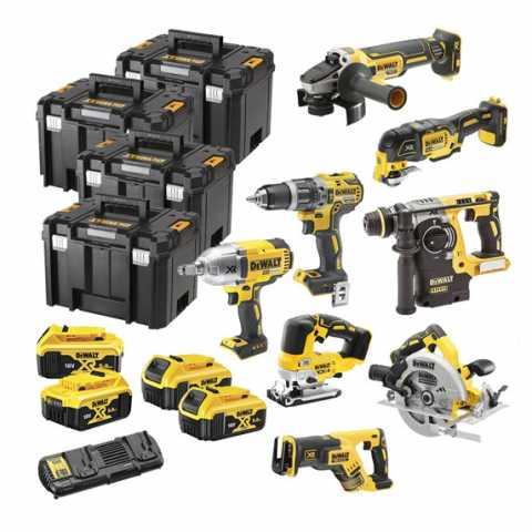 Купить Набор из восьми инструментов аккумуляторных DeWALT DCK865P4T. Инструмент DeWALT Украина, официальный фирменный магазин