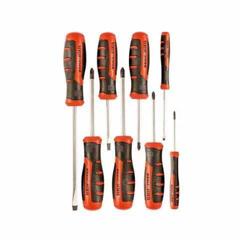 Купить Набор отверток 8 шт BLACK+DECKER BDHT0-66450. Инструмент Black Deker Украина, официальный фирменный магазин