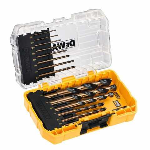 Купить Набор сверл по металлу DeWALT DT70727. Инструмент DeWALT Украина, официальный фирменный магазин
