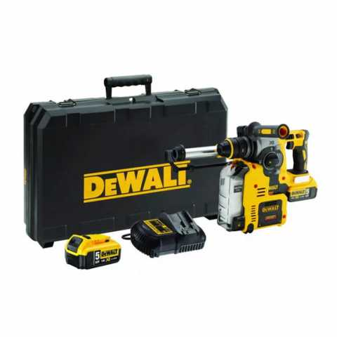 Купить Перфоратор аккумуляторный бесщеточный SDS-Plus DeWALT DCH275P2. Инструмент DeWALT Украина, официальный фирменный магазин