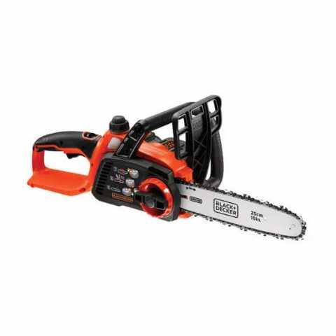 Купить Пила цепная аккумуляторная BLACK+DECKER GKC1825L20. Инструмент Black Deker Украина, официальный фирменный магазин