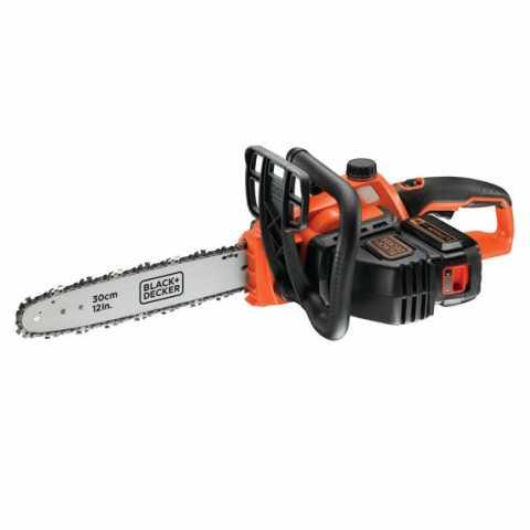 Купить Пила цепная аккумуляторна BLACK+DECKER GKC3630L25. Инструмент Black Deker Украина, официальный фирменный магазин