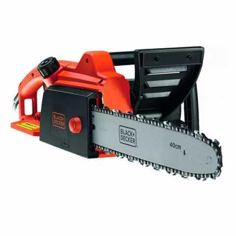 Купить Пила цепная электрическая BLACK+DECKER CS1840. Инструмент Black Deker Украина, официальный фирменный магазин