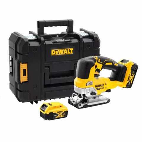 Купить Пила лобзиковая аккумуляторная бесщёточная DeWALT DCS334P2. Инструмент DeWALT Украина, официальный фирменный магазин