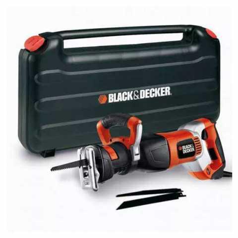 Купить Пила сабельная сетевая BLACK+DECKER RS1050EK. Инструмент Black Deker Украина, официальный фирменный магазин