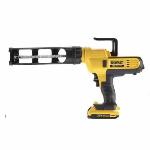 Купить Пистолет для герметиков аккумуляторный DeWALT DCE560D1. Инструмент DeWALT Украина, официальный фирменный магазин