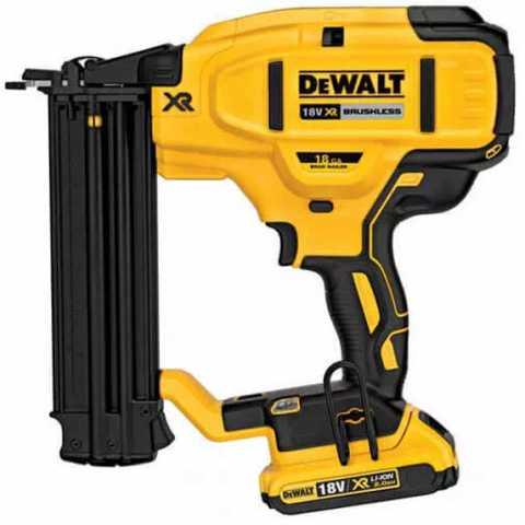 Купить Пистолет гвоздезабивной аккумуляторный бесщёточный DeWALT DCN680D2. Инструмент DeWALT Украина, официальный фирменный магазин