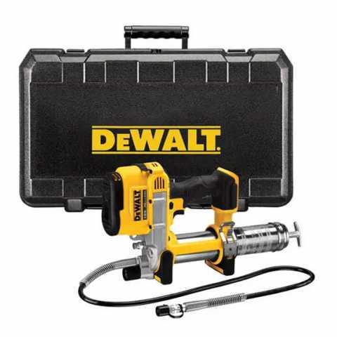 Купить Пистолет маcляный аккумуляторный DeWALT DCGG571NK. Инструмент DeWALT Украина, официальный фирменный магазин