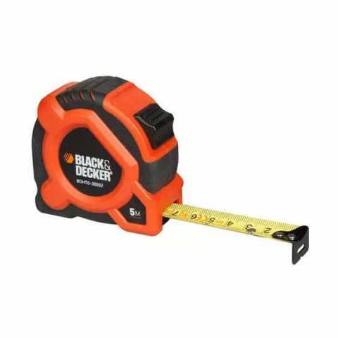 Купить Рулетка измерительная 5 метров BLACK+DECKER BDHT0-30092. Инструмент Black Deker Украина, официальный фирменный магазин