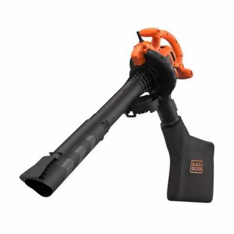 Купить Садовый пылесос электрический BLACK+DECKER BEBLV260. Инструмент Black Deker Украина, официальный фирменный магазин