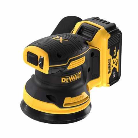 Купить Шлифмашина эксцентриковая аккумуляторная бесщёточная DeWALT DCW210P2. Инструмент DeWALT Украина, официальный фирменный магазин
