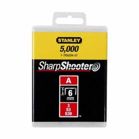 Купить Скобы тип А высотой 6 мм, для степлера ручного Light Duty, в упаковке 1000 шт STANLEY 1-TRA204T. Инструмент DeWALT Украина, официальный фирменный магазин