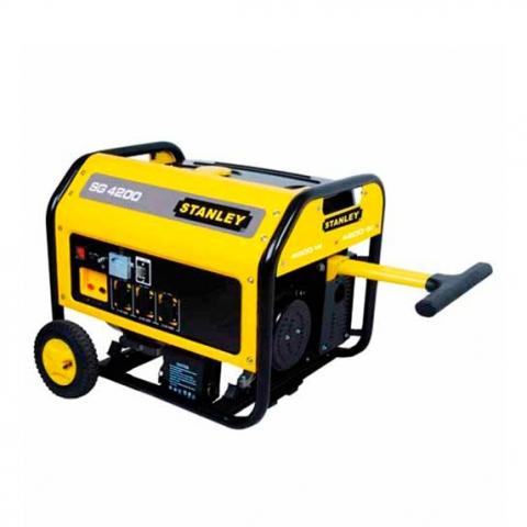 Купить инструмент Stanley Бензиновый генератор однофазный STANLEY SG4200 фирменный магазин Украина. Официальный сайт по продаже инструмента Stanley