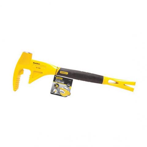 Купить инструмент Stanley Гвоздодер-монтировка STANLEY 1-55-099 фирменный магазин Украина. Официальный сайт по продаже инструмента Stanley