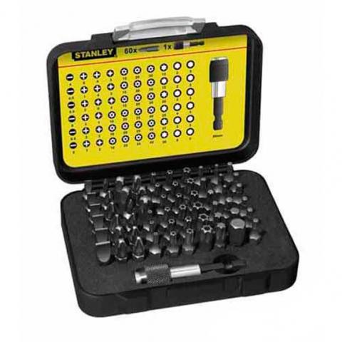 Купить инструмент Stanley Набор бит Expert STANLEY 1-13-902 фирменный магазин Украина. Официальный сайт по продаже инструмента Stanley