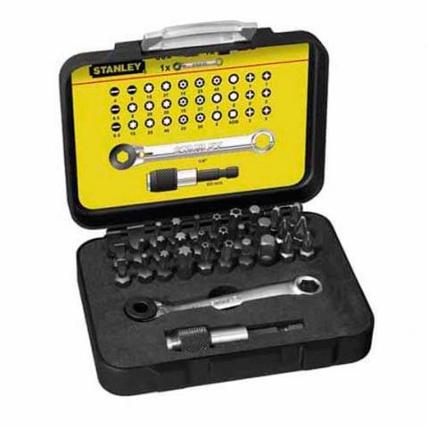 Купить инструмент Stanley Набор бит Expert STANLEY 1-13-905 фирменный магазин Украина. Официальный сайт по продаже инструмента Stanley
