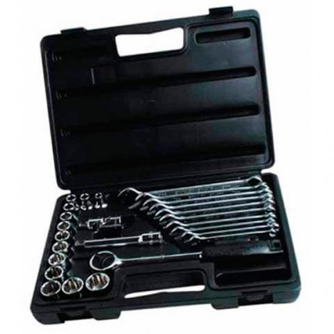 Купить Набор головок торцевых 1/2 и ключей комбинированных STANLEY 1-89-105