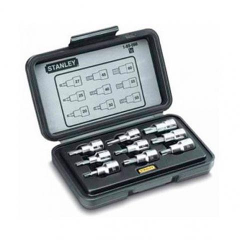 Купить инструмент Stanley Набор головок торцевых 1/2 STANLEY 1-89-098 фирменный магазин Украина. Официальный сайт по продаже инструмента Stanley