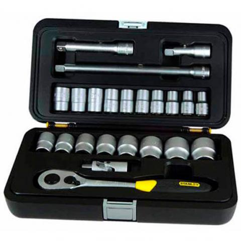 Купить инструмент Stanley Набор головок торцевых 1/2 STANLEY 1-94-671 фирменный магазин Украина. Официальный сайт по продаже инструмента Stanley