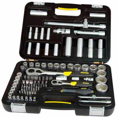 Купить инструмент Stanley Набор головок торцевых STANLEY 1-94-668 фирменный магазин Украина. Официальный сайт по продаже инструмента Stanley