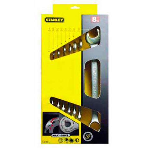 Купить инструмент Stanley Набор ключей гаечных комбинированных STANLEY 4-87-054 фирменный магазин Украина. Официальный сайт по продаже инструмента Stanley