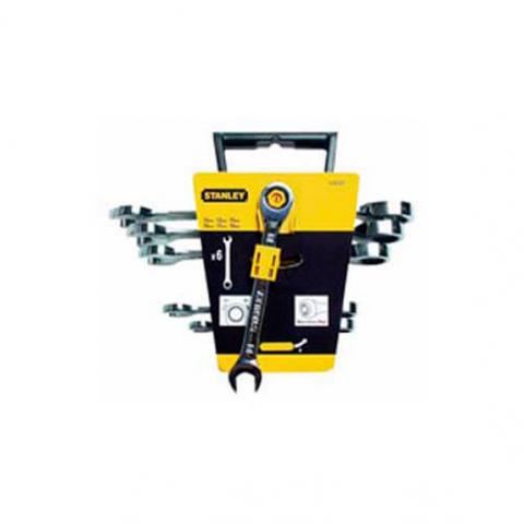 Купить инструмент Stanley Набор ключей комбинированных с трещеткой STANLEY 4-89-907 фирменный магазин Украина. Официальный сайт по продаже инструмента Stanley